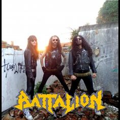 BATTALION: Moldado no Metal tradicional - Whiplash #Battalion #TyrantOfEvil #SangueFrioProduções