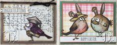 Richele Christensen: Tim Holtz Bird Crazy Stamps