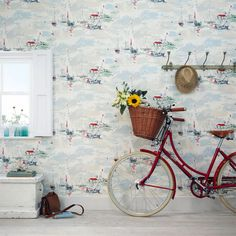 Seaside Wallpaper Designs - 10 of the best Wallpapers  Prints