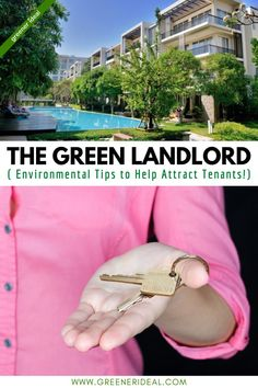 Going green while protecting the environment as a real estate investor may sound a bit hard, but environmental sustainability efforts are at an all-time high in today's world. And going green is one way to attract young and environmentally conscientious tenants! If you want to become A Green Landlord, check out our guide on how to become one & Attract More Tenants! #greenlivingtips #gogreen #environment #home #homeimprovement #landlord #homeowner #rent #tenants Sustainable City, Sustainable Living, Green Living Tips, Energy Efficient Homes, Green Architecture, Eco Friendly House, Green Building, Way Of Life, Being A Landlord