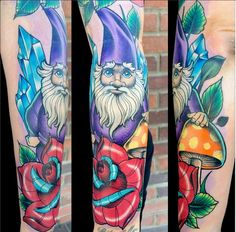 If some one held a gun to my head and made me get a tattoo for Garden gnome tattoo designs