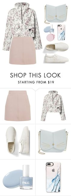 """""""Untitled #648"""" by jovana-p-com ❤ liked on Polyvore featuring Topshop, A.L.C., Gap, Ted Baker and Casetify"""