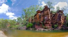 Umbrawarra Gorge, near Pine Creek