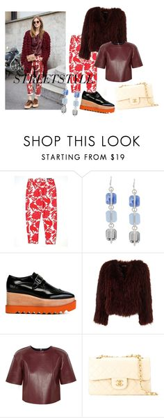 """""""Streetstyle #4"""" by romi-kella on Polyvore featuring Skye's The Limit, Chiara Ferragni, Kenneth Cole, STELLA McCARTNEY, T By Alexander Wang, Chanel, women's clothing, women, female and woman"""