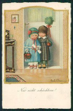 Artist Signed Pauli Ebner Children Dondorf serie 2461 postcard TC2277   eBay