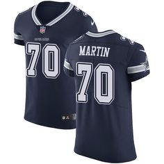 Nike Cowboys  70 Zack Martin Navy Blue Team Color Men s Stitched NFL Vapor  Untouchable Elite cc813daad