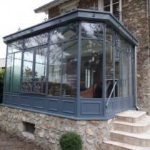 Greenhouse Plans, Biarritz, Glass House, Conservatory, Sunroom, Home Projects, Small Spaces, Sweet Home, Windows