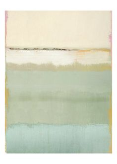 Large scale painting, soft colors | Something like this for the living room wall?