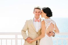 Romantic Destination Wedding in Clearwater  on Borrowed & Blue.  Photo Credit: Limelight Photography