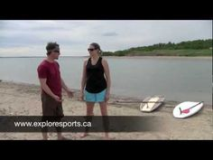 Becky meets up with Explore Sports to try out some stand up paddle boarding on Lake Diefenbaker, Saskatchewan. Explore Sports also specializes in kiteboardin. Paddle Boarding, Stand Up, Road Trip, Canada, Explore, Adventure, Fun, Outdoor, Get Up
