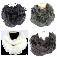 "Faux Fur Super Soft Infinity Scarf Absolutely gorgeous and super soft infinity scarf.  100% acrylic.  I personally own this scarf in every color and it is so soft and warm I never want to take them off.  Also available in other colors.  Please check my closet for many other items. 30"" long.   ‼️‼️ Available in Ivory, brown, gray & black.  Please let me know which color you want and I will create a listing for you.  ‼️‼.     ‼️️PRICE FIRM UNLESS BUNDLED‼️ Boutique Accessories Scarves & Wraps"