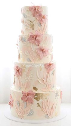 Wedding cakes are an iconic part of a big day reception. There's nothing like a beautiful wedding cake, that looks almost too pretty to cut into. Check out these latest wedding cakes are the latest instragram wedding cake trend from fabulous artist cake Pretty Wedding Cakes, Wedding Cakes With Cupcakes, Elegant Wedding Cakes, Wedding Cake Designs, Pretty Cakes, Unique Weddings, Blush Weddings, White Weddings, Fairytale Weddings