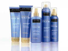 $2.00 Off any John Frieda Luxurious Volume Hair Care product.