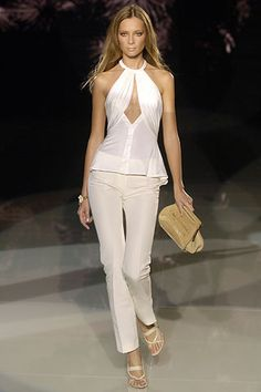 Versace Spring 2006 Ready-to-Wear Collection Slideshow on Style.com