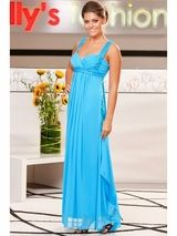 Turquoise Prom Dress Turquoise Bridesmaid Gown Turquoise Cocktail