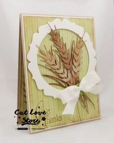Any Colour//Card Leaf Autumn C9 12 Leaves Die Cuts Wheat