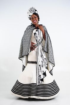 South African Traditional Dresses, Traditional Outfits, Xhosa Attire, Shweshwe Dresses, African Royalty, My Perfect Wedding, Zac Efron, African Fashion Dresses, Traditional Wedding