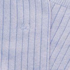 Edward Sexton powder blue cashmere socks