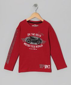 Take a look at this Rio Red Chop Shop Tee - Infant, Toddler & Boys by Sprockets on #zulily today!