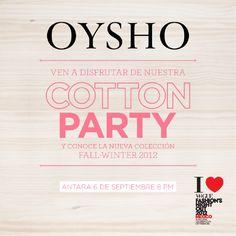 OYSHO en la FNO 2012 en Antara Fashion Hall