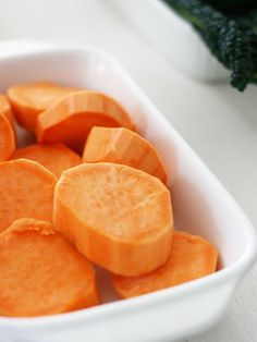 Sweet Potato helps healthy digestion and a healthy immune system in dogs - slice and bake them as a snack or add cooked portions to your dog's dinner.
