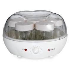 GOT THIS FOR CHRISTMAS!!!!    Euro Cuisine® Automatic Yogurt Maker - BedBathandBeyond.com