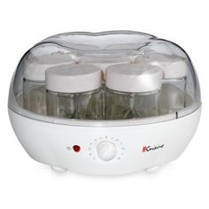 GOT THIS FOR CHRISTMAS!!!!    Euro Cuisine® Automatic Yogurt Maker - BedBathandBeyond.com