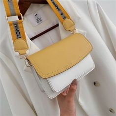 New Texture Small Bag Female New Wild Hit Color Girl Small Square Bag Fashion Simple Chain Messenger Bag is designer, see other cute bags on NewChic. Cheap Purses, Cute Purses, Cheap Handbags, Purses And Handbags, Leather Handbags, Small Purses, Large Handbags, Satchel Handbags, Leather Bags