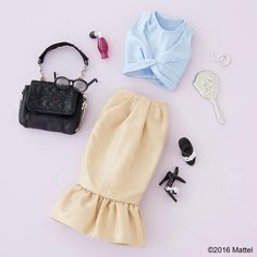 Today's look! Classics with a modern twist.  #barbie #barbiestyle