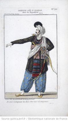 [Les bayadères, opéra de Catel et Jouy : costume de Dérivis (Olkar)] - 1