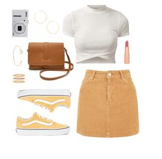 With these new and stylish outfits, your style will definitely be improved and everyone will be amazed by your look! Here are 30 back to school outfits! Teen Fashion Outfits, Skirt Outfits, Trendy Outfits, Spring Outfits, Cool Outfits, Casual Teen Fashion, Casual Ootd, Ootd Fashion, College Outfits