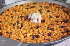 Arroz al horno con garbanzos y pasas www.cocinandoentreolivos.com (17)
