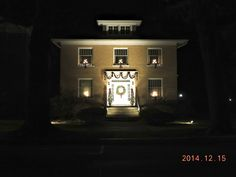 Victorian Home Decorated For Christmas Bellefonte PA