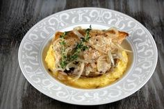 Slow Cooker Garlic Chicken. This was AWESOME and easy!  Served with roasted red potatoes instead of polenta.