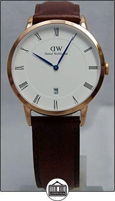 Daniel Wellington 1100DW reloj marrón rojizo, oro Rosa, St.Mawes 38 mm de  ✿ Relojes para hombre - (Gama media/alta) ✿