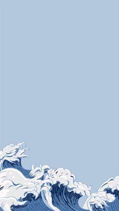 Waves Wallpaper, Phone Wallpaper Images, Cute Patterns Wallpaper, Iphone Background Wallpaper, Cute Disney Wallpaper, Butterfly Wallpaper, Retro Wallpaper, Scenery Wallpaper, Kawaii Wallpaper