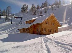 Ferienhütte mitten im Ski - und Wandergebiet Galsterbergalm Urlaub Pruggern