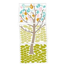 Living Textiles Lolli Living Poppy Seed Wall Decals - Tweets in Tree
