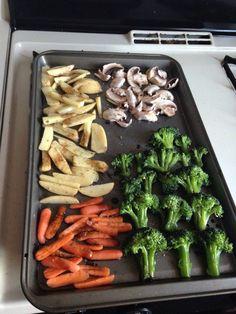 Vegetales al horno