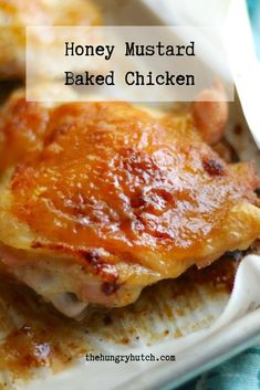 This is the recipe that finally convinced me why people love honey mustard so much, and it shines in an easy-to-prepare sweet and tangy chicken. Fun Easy Recipes, Simply Recipes, Popular Recipes, Keto Recipes, Savoury Dishes, Food Dishes, Dishes Recipes, Main Dishes, Good Food
