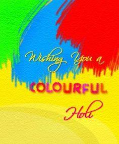 Happy colourful Holi