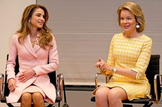Queen Rania and King Abdullah state visit to Belgium