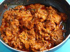 Hyderabadi Dum Ka Murg Indian Chicken Recipes, Veg Recipes, Easy Chicken Recipes, Indian Food Recipes, Snack Recipes, Cooking Recipes, Snacks, Ethnic Recipes, Red Curry Chicken