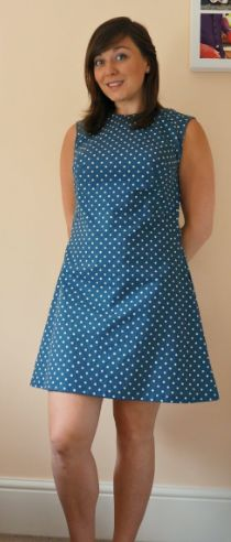 Laura's Francoise dress - sewing pattern by Tilly and the Buttons