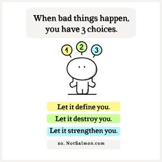 Even if you cannot change some of your circumstances, you can change how you respond to things that happen! Create a more positive mindset! Check out my bestselling book HAPPY HABITS.