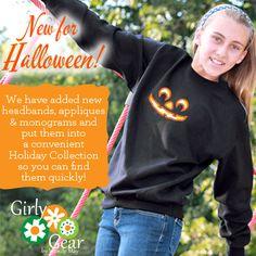 New for Halloween!  www.girlygearshop.com