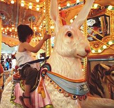 """Wrong Rabbit went to the carnival and ate from the plate marked """"Don't Eat Me."""""""