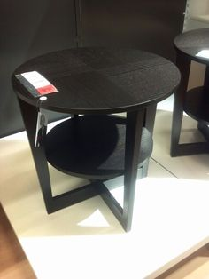 Vejmon side or end table grom ikea. Hace matching coffee table