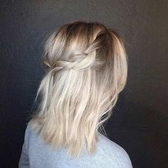 Simple and Easy Everyday Look for Mid Length Hair