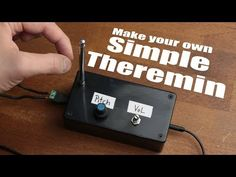 Make Your Own Simple Theremin: 4 Steps (with Pictures)